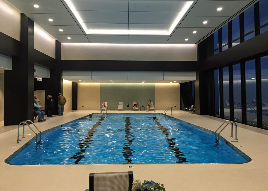 Archimage architects ltd john hancock pool and fitness - Capital tower fitness first swimming pool ...
